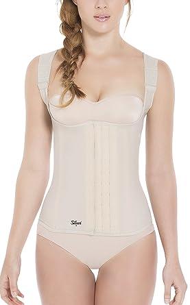 a27b264cb2 Siluet Classic Latex Vest at Amazon Women s Clothing store