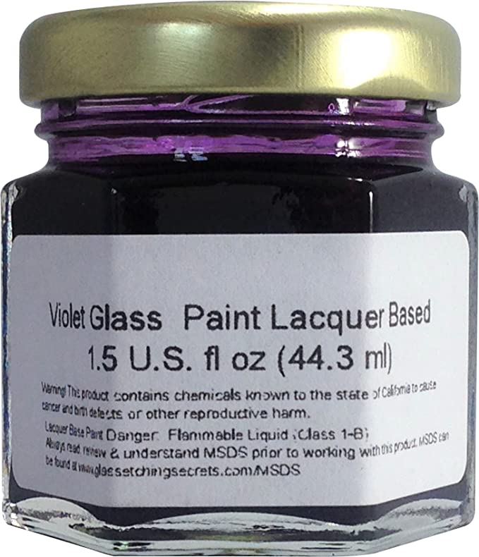 PINTURA para cristal lacado, a las manchas permanente 1.5-Ounce profesional Stained Glass como pintura: Amazon.es: Oficina y papelería