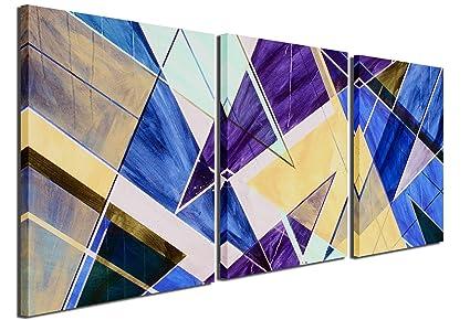 Amazon Com Gardenia Art Abstract Geometry Canvas Prints Wall Art