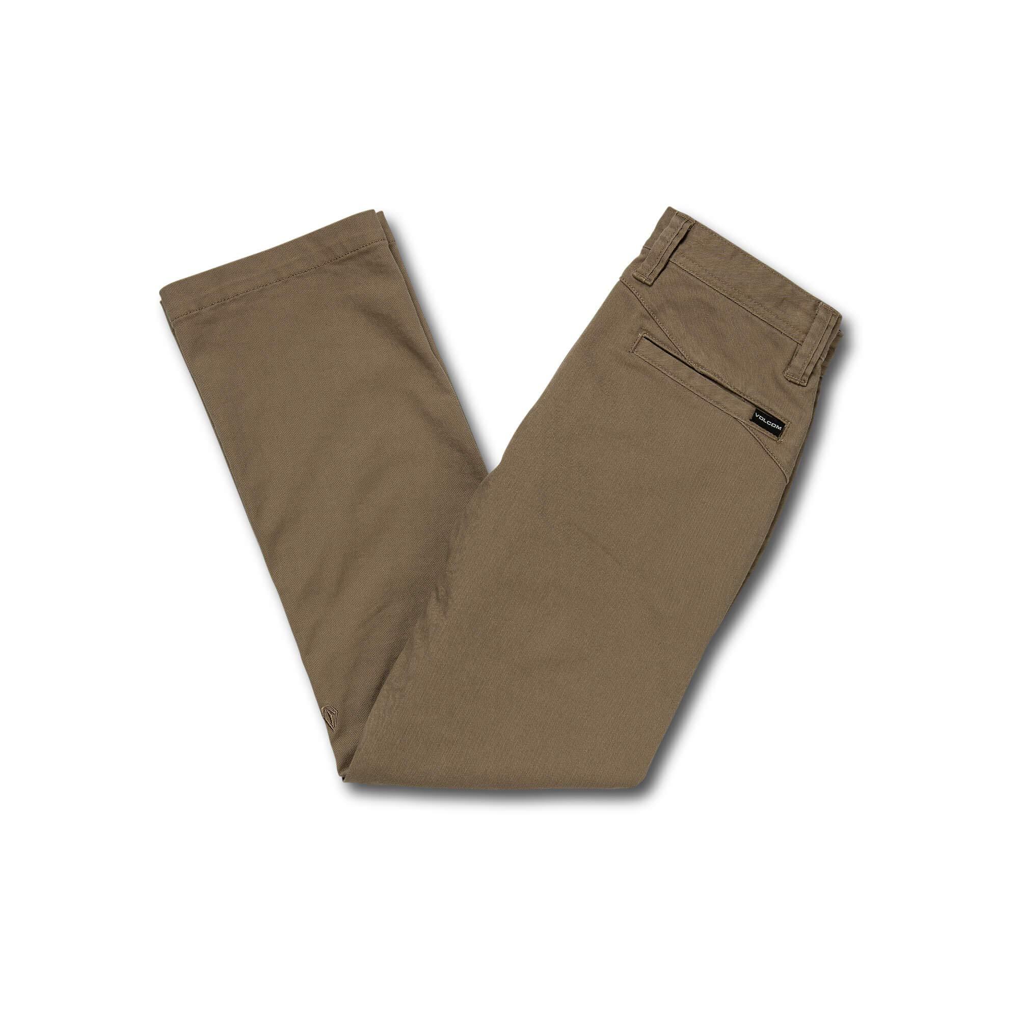 Volcom Big Boys Frickin Regular Fit 15'' Chino Pant, Khaki, 23 by Volcom (Image #2)