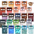 Epoxy Resin Dye - 24 Mica Powder for Epoxy Set - Epoxy Resin Color Pigment – Soap Dye - Cosmetic Pigment Powder - Slime Pigme