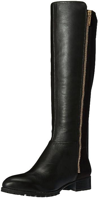 Nine West Women's Legretto Knee-High Boot, Dark Brown, ...
