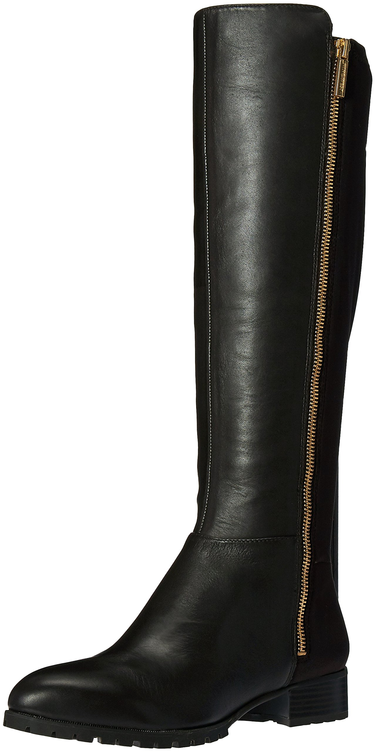Nine West Women's Legretto Knee-High Boot, Dark Brown, 8.5 M US