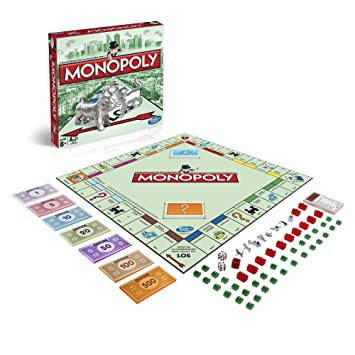 Hasbro Gaming Monopoly Clasico Juego De Mesa 00009398 Version
