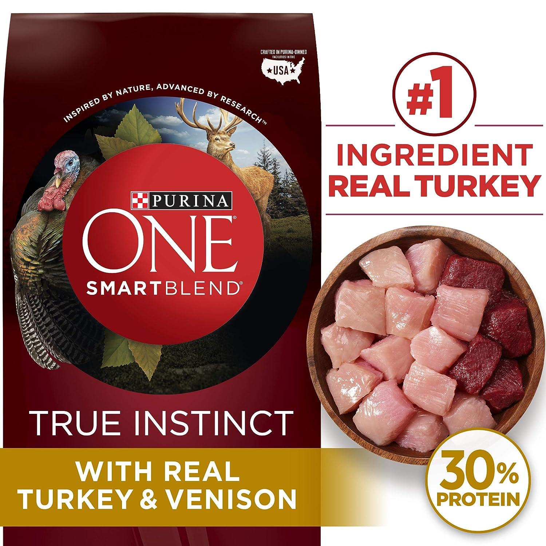 Purina ONE SmartBlend True Instinct Natural Adult Dry Dog Food Dog Treats