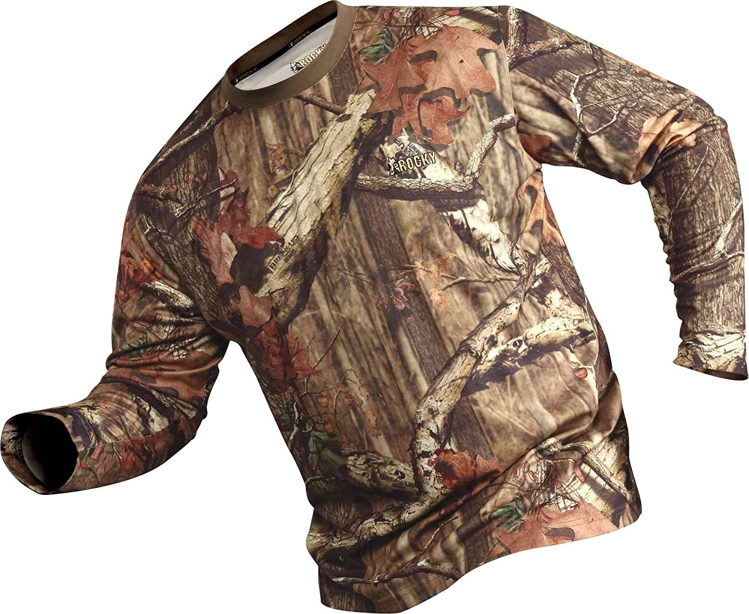 127f24ee59f90 Rocky Mens Silent Hunter Long-Sleeve Performance Shirt Rocky Sports Apparel  600520 Men Active Base Layers