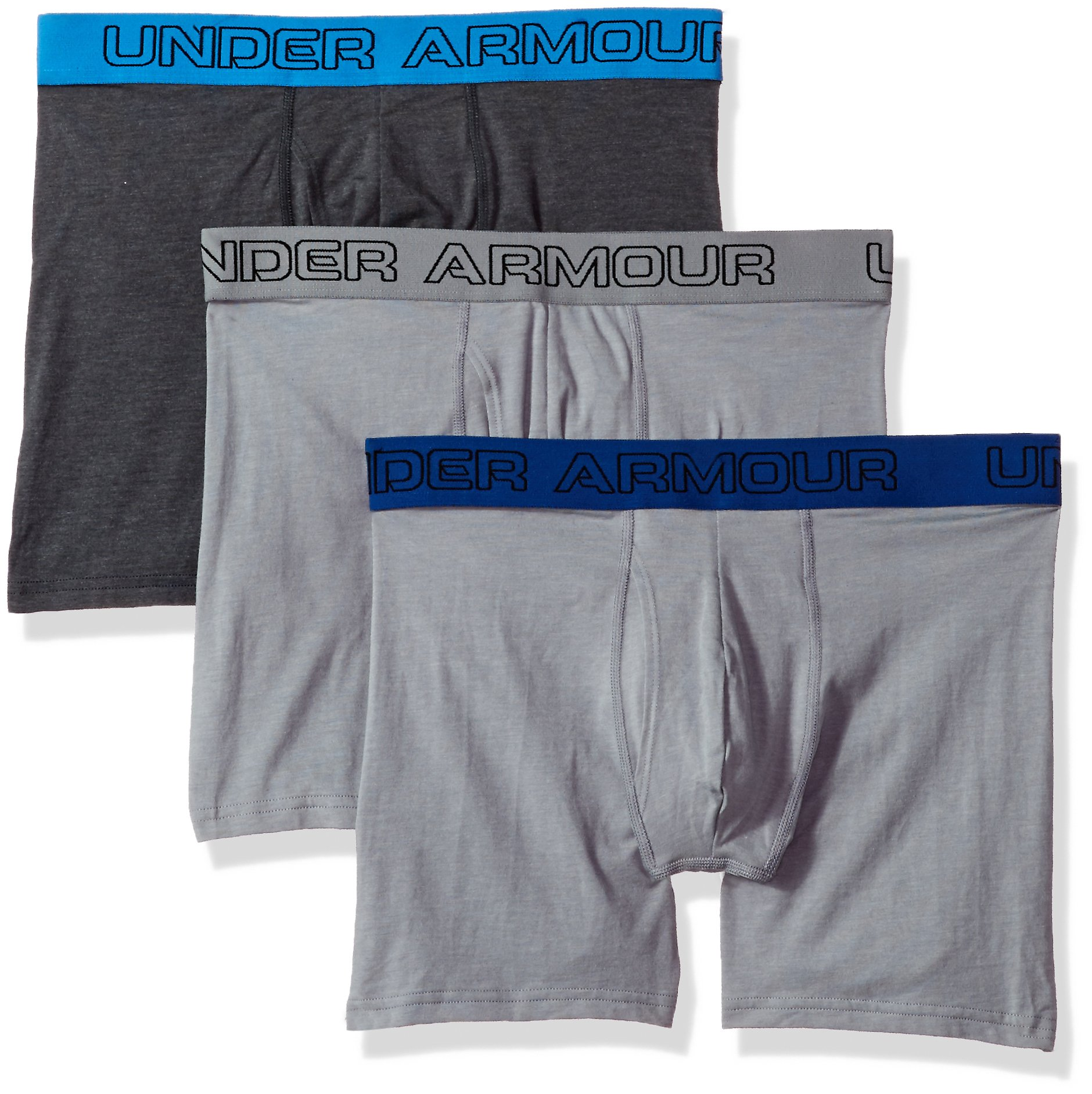 "Bekleidung Jagen Under Armour Charged Cotton Stretch 6"" Boxershort Unterwäsche 3pack 5xl 1277279"
