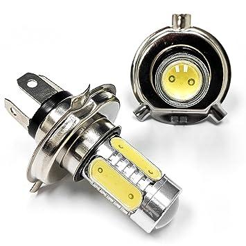 biltek faros LED conversión bombilla H4 para LED luz de alta luz de cruce Motocicleta Scooter
