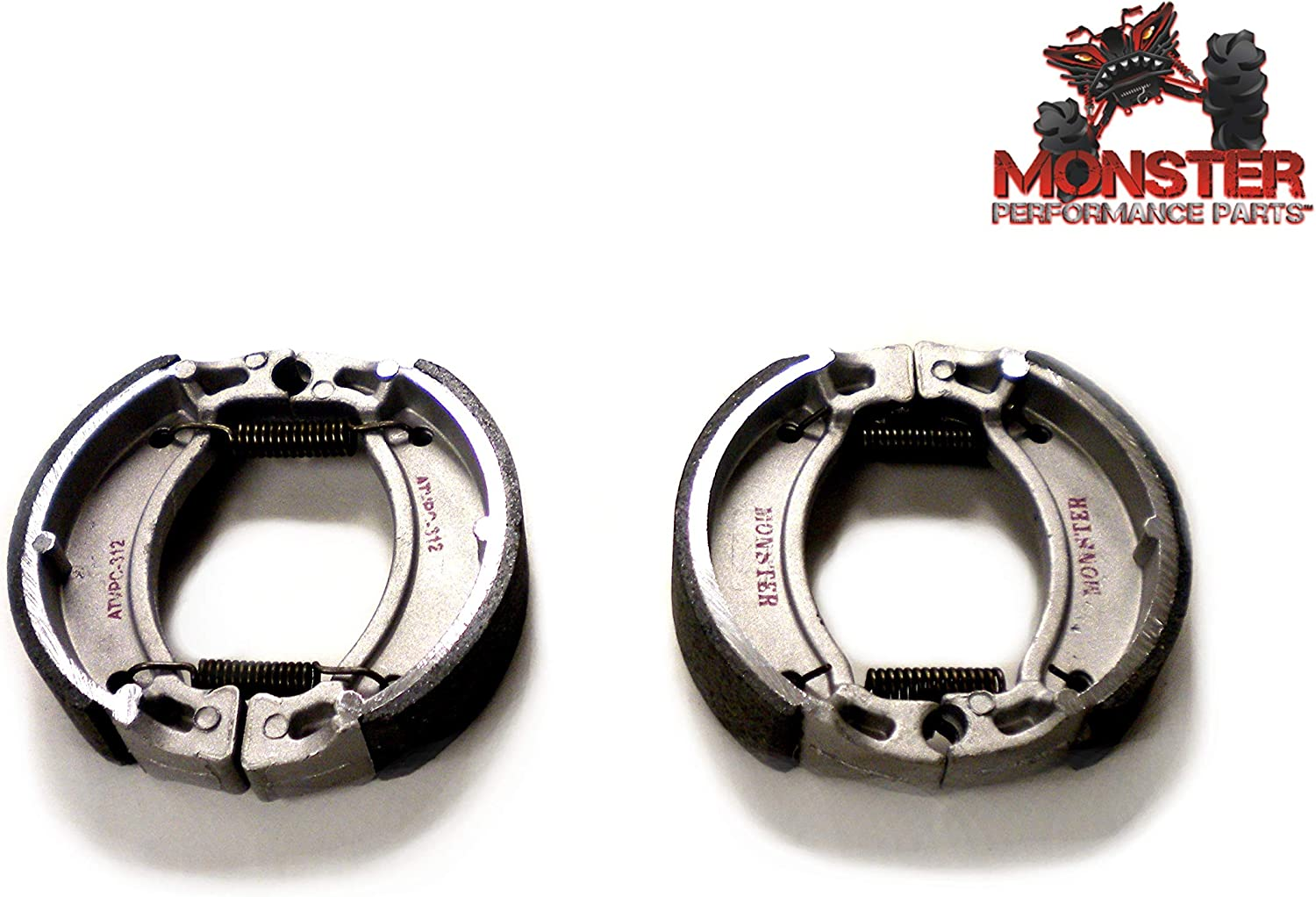 4BE-W253E-00-00 for Yamaha Blaster 200 YFS200 1988-2002 Front Brake Shoes