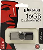 Kingston Data Traveler 101 Gen2 with urDrive - Memoria USB 2.0 16 GB Color Negro
