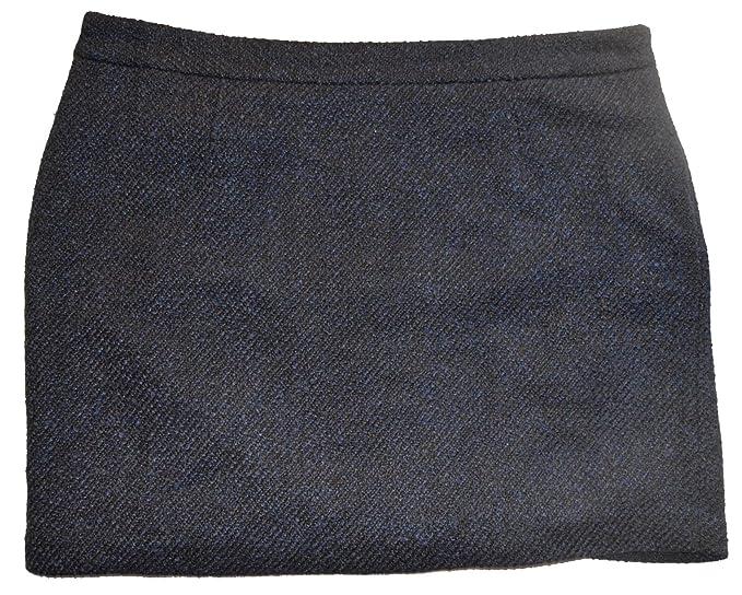 5c7f7d2c9f GAP Womens Navy Black Tapestry Wool Blend Lined Mini Skirt 10 at ...