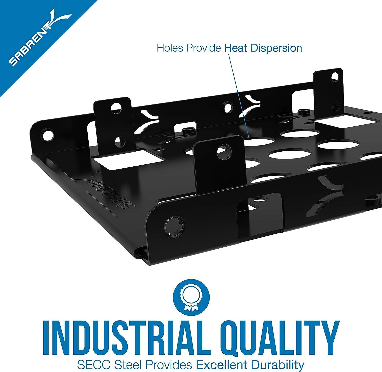 Sabrent Equipo de montaje de disco duro interno 2.5 a 3.5 pulgadas ...