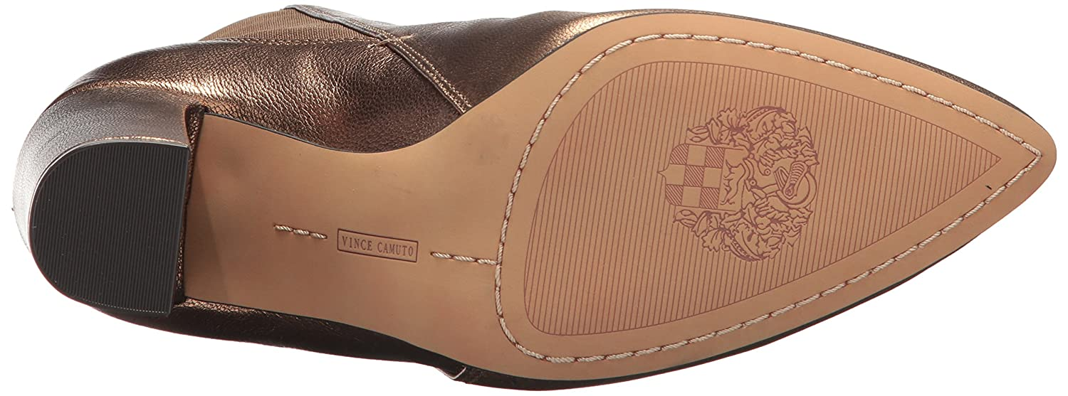 Vince Camuto Women's Britsy Ankle Boot B071FFYQBK 8.5 B(M) US|Bronze