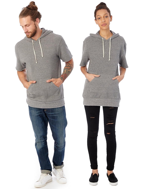 Alternative Mens Short Sleeve Hoodie