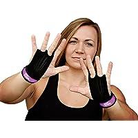 Bear KompleX 2 holes Gymnastiek grips zijn geweldig voor WOD's, pullups, gewichtheffen, kin ups, cross training…