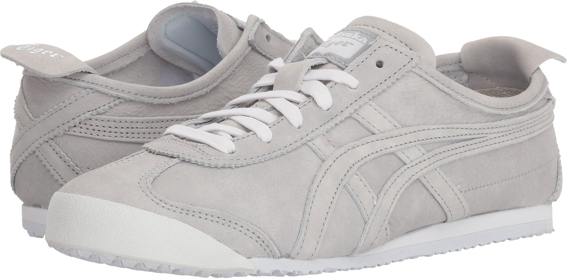official photos 94cce c5e52 Onitsuka Tiger by Asics Womens Mexico 66 Mid Grey/Mid Grey 10.5 B - Medium
