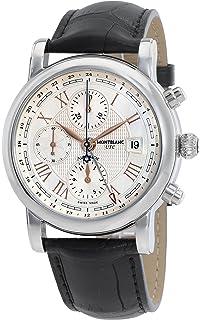 648f3c56bb338 Amazon.com  Montblanc Star Automatic Chronograph UTC Silver Dial ...