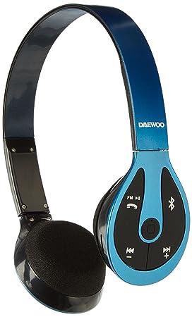Daewoo DHP1013BT - BL-Blue estéreo Bluetooth-Auriculares Azules