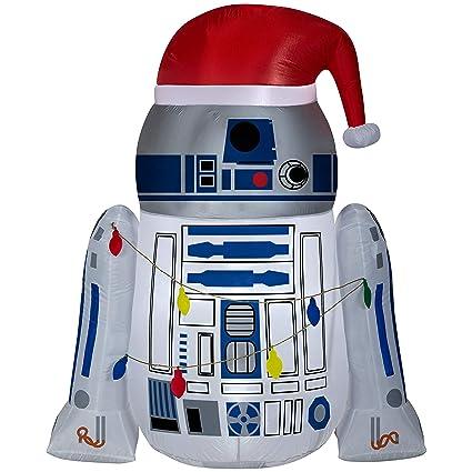 Amazon.com: Airblown - Inflables de 4,5 pies R2-D2 envueltos ...