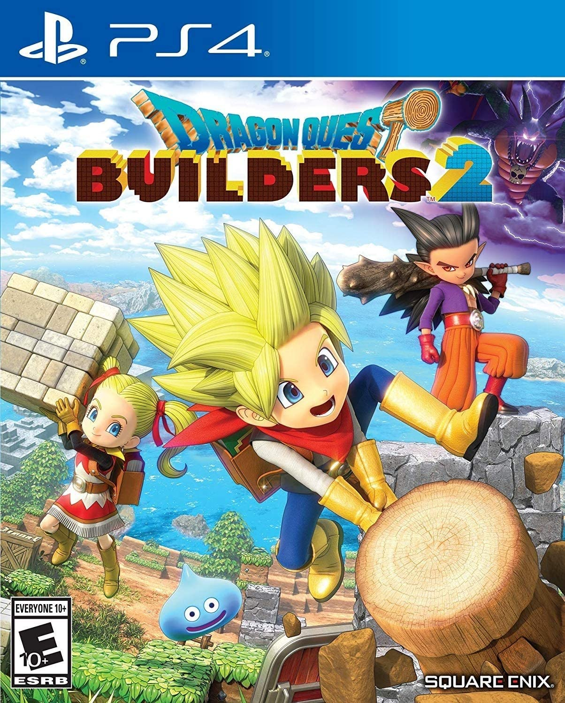 Amazon com: Dragon Quest Builders 2 - PlayStation 4: Square