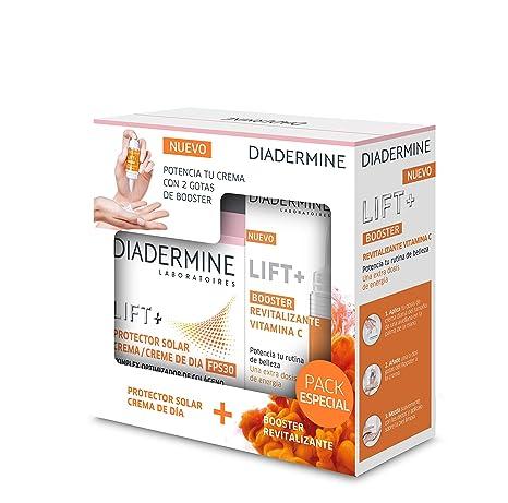Diadermine - Lift+ Protector solar crema de dia - 50ml y Lift+ Booster Revitalizante -15ml