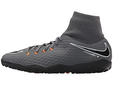 promo code d6ada bbd07 Nike Hypervenom PhantomX 3 Academy DF TF- Grey/Black/Orange ...