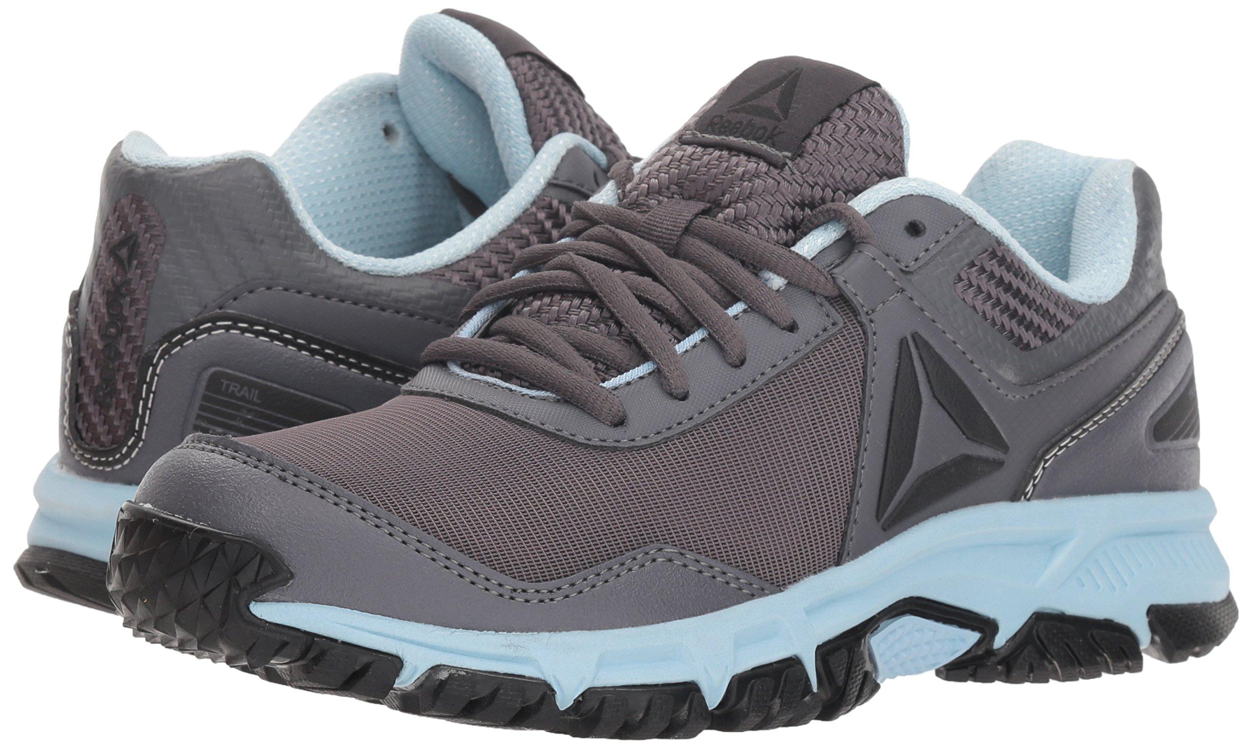 Reebok Women's Ridgerider Trail 3.0 Walking Shoe, ash Grey/Dreamy Blue/blac, 7.5 M US by Reebok (Image #5)