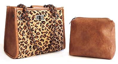 ab44c75c8df7 Amazon.com: Naife women's leopard pattern tote handbags: Shoes