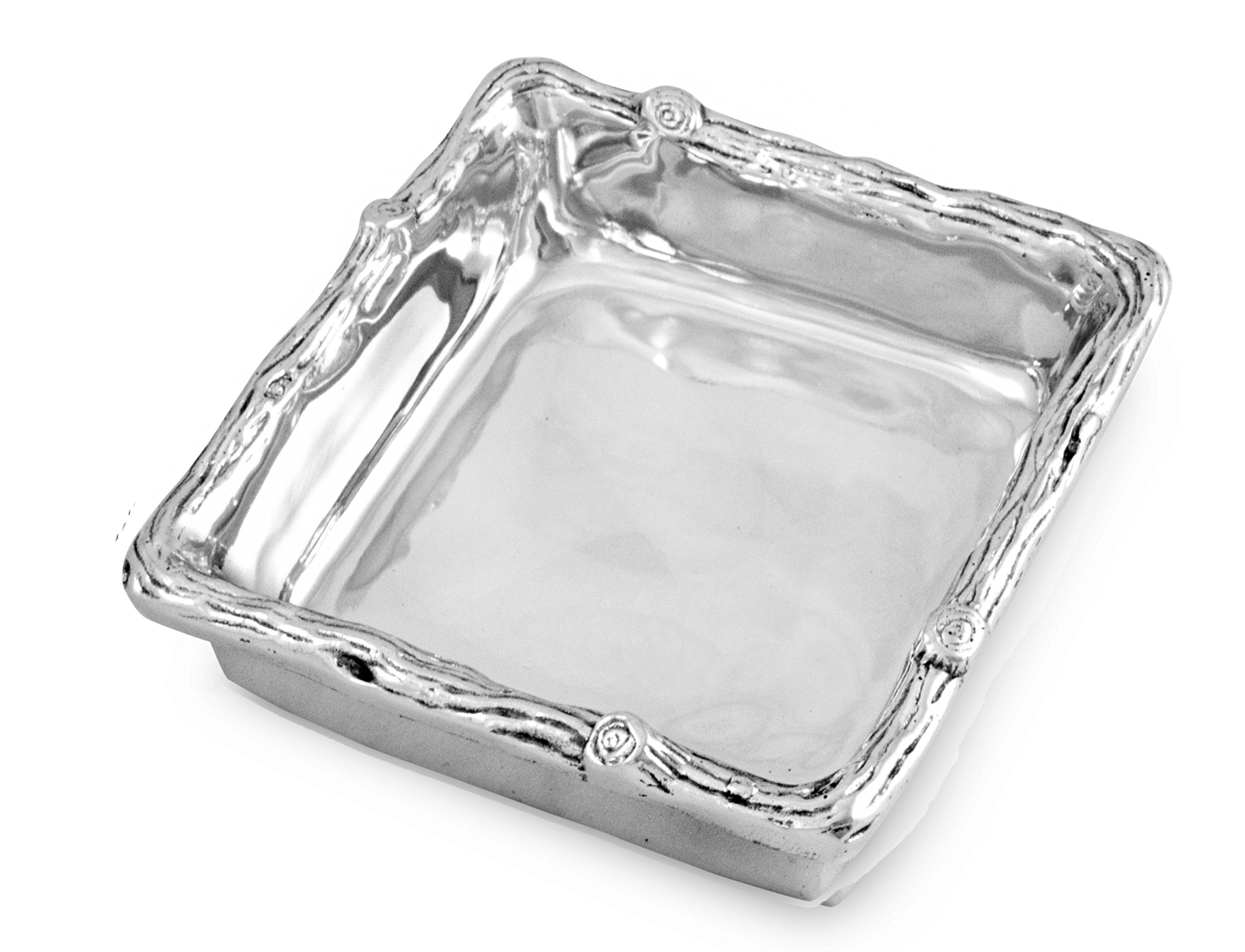 Beatriz Ball 6288 Forest Not Just For Napkins Box, Silver