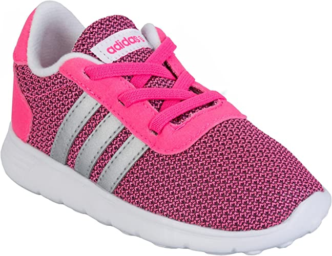 adidas Infant Girls Neo Lite Racer Trainer in Pink