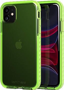 tech21 Evo Rox Coque de protection pour Apple iPhone 11 Vert acide 3,6 m