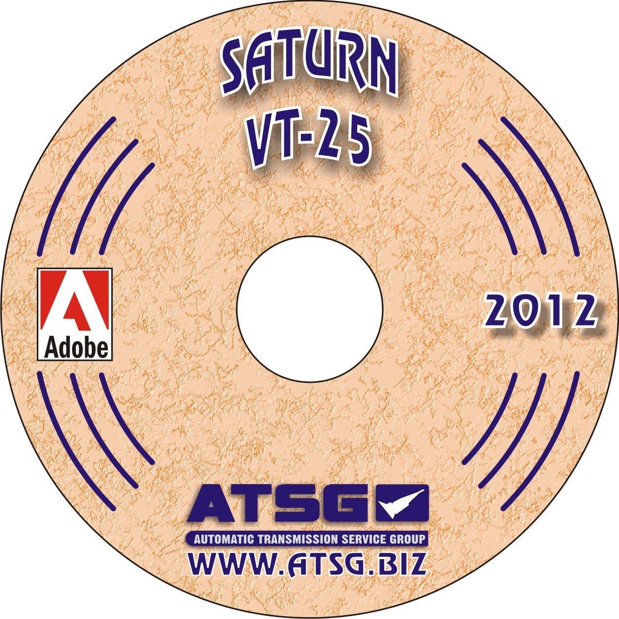ATSG Saturn VT25-E/VT20-E Techtran Transmission Rebuild Manual: Automatic  Transmission Service Group: Amazon.com: Books