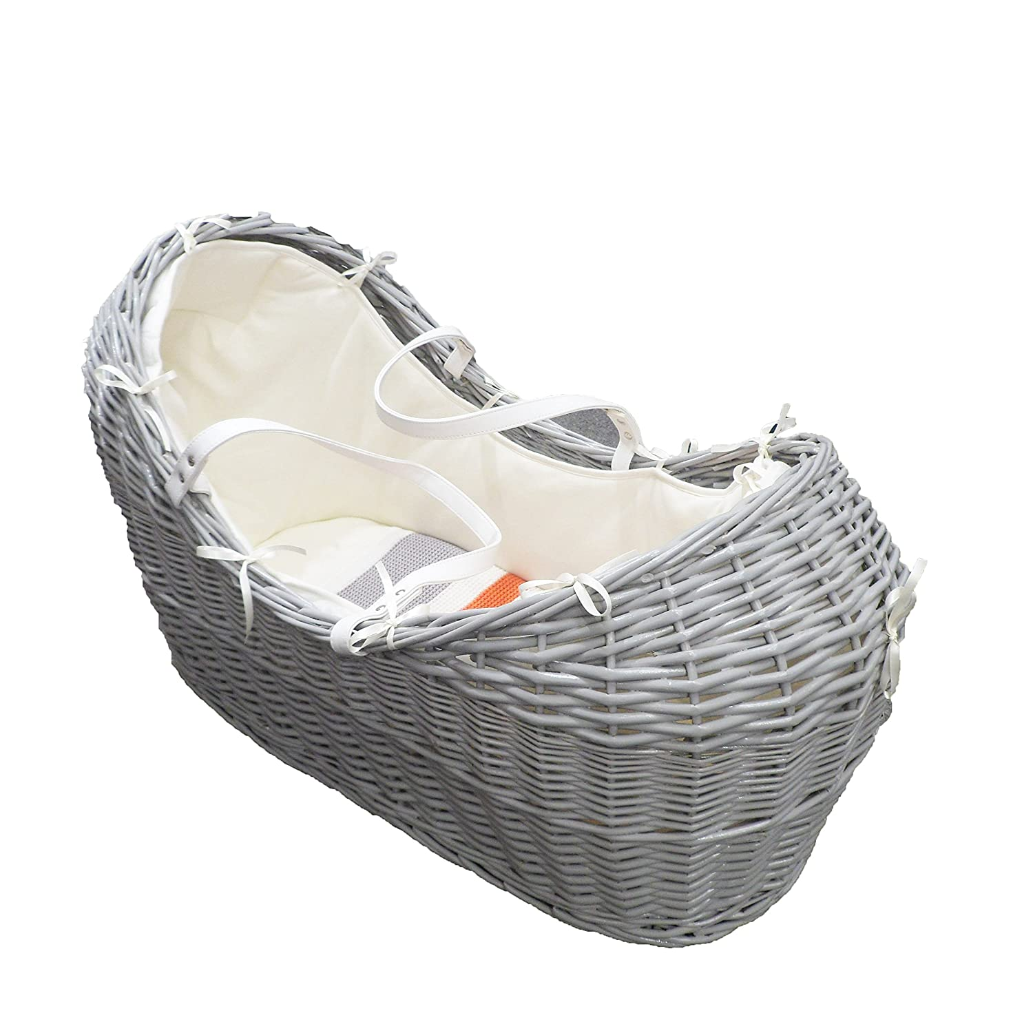 Natures Purest My 1st Friend Wicker Moses Basket Pod
