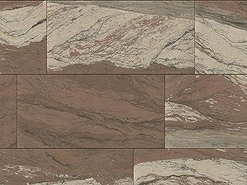 Echte Flexible Sandstein Fliesen Dark River Als Wandverkleidung