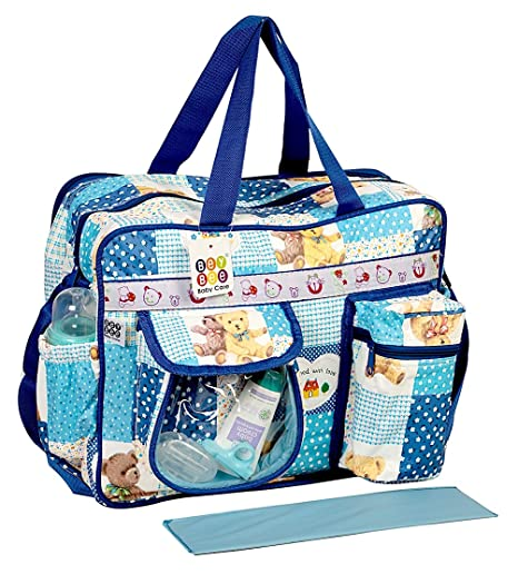 Bey Bee - Mama's Bag {Diaper Bag} (Dark Blue)