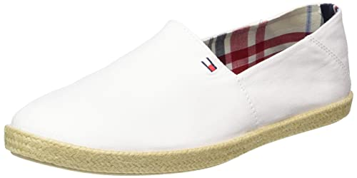 Tommy Hilfiger G2285RANADA 2D_1, Mocasines para Hombre, Blanco (White 100), 46 EU: Amazon.es: Zapatos y complementos