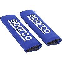 SPARCO SPC1204BL Seat Belt Padding Blue, 2 eenheden
