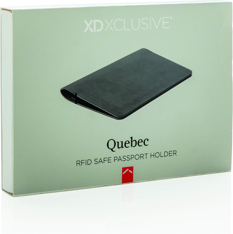 Negro XD Design Seguro Quebec Porte-Carte de Transport Noir 14 cm
