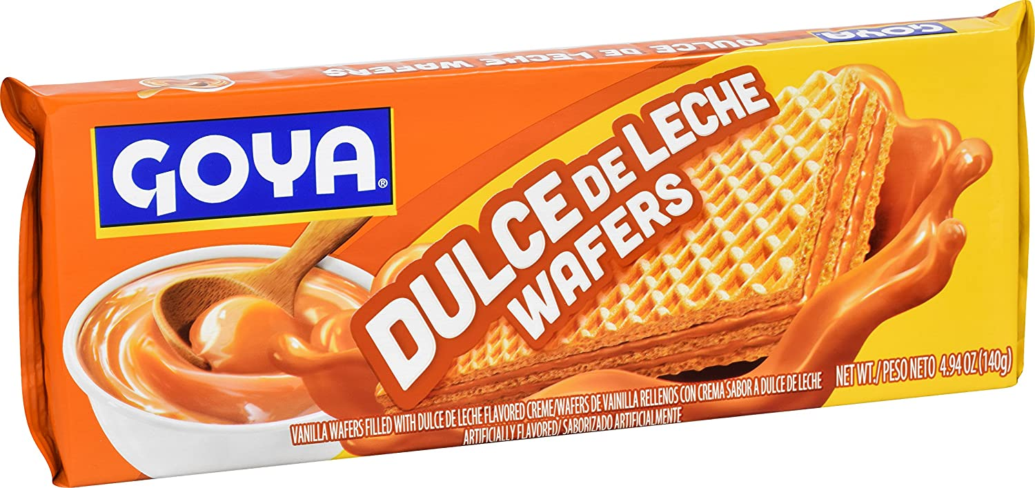 Amazon.com : Goya Foods Dulce Le Leche Wafer, 4.94 Ounce (Pack of 24) : Grocery & Gourmet Food