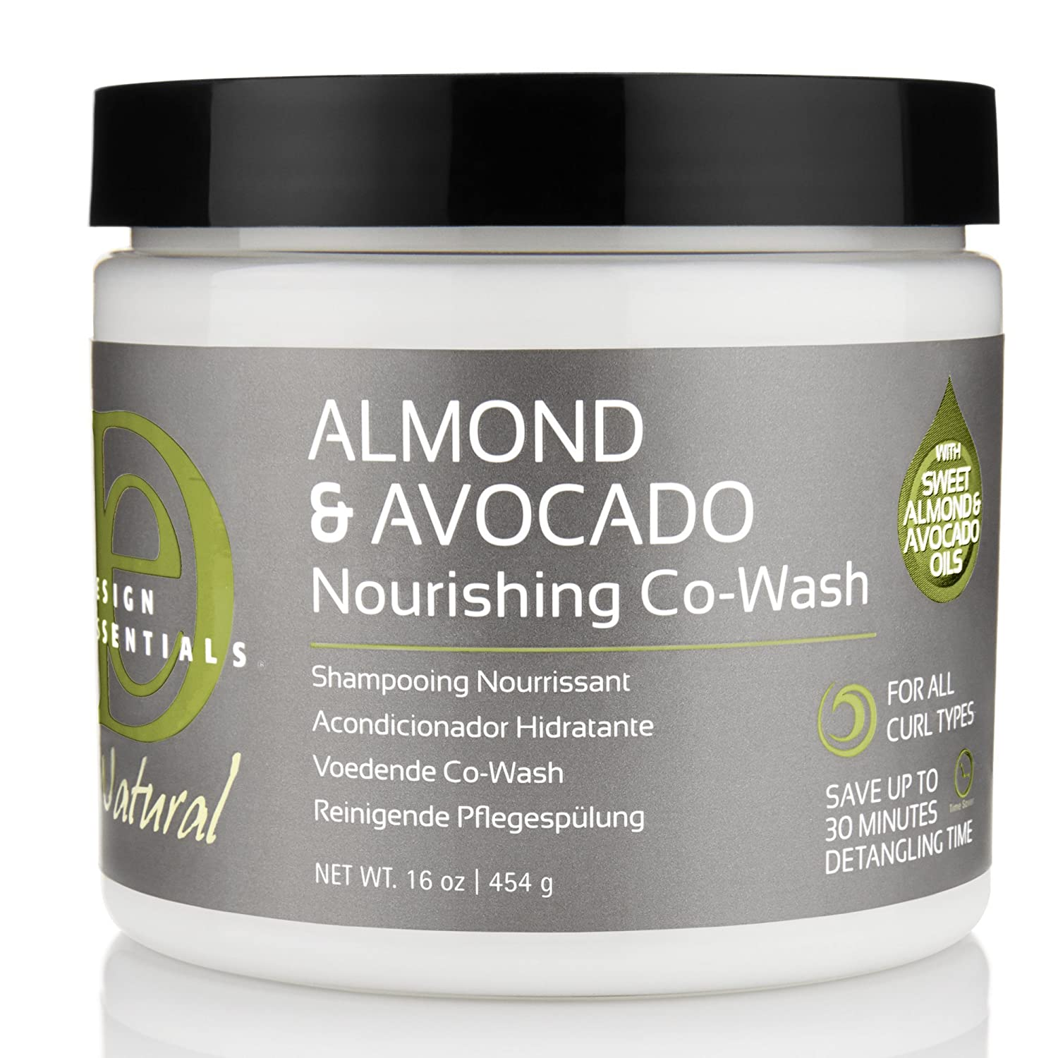 Design Essentials Natural 2 In 1 Sulfate Free Nourishing Co Wash Crème For Cleansing, Conditioning And Hydrating All Hair Textures Almond &... by Design Essentials