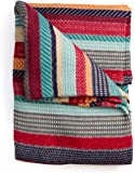 PENDLETON COTTON JACQUARD CHIMAYO GARNET QUEEN BLANKET