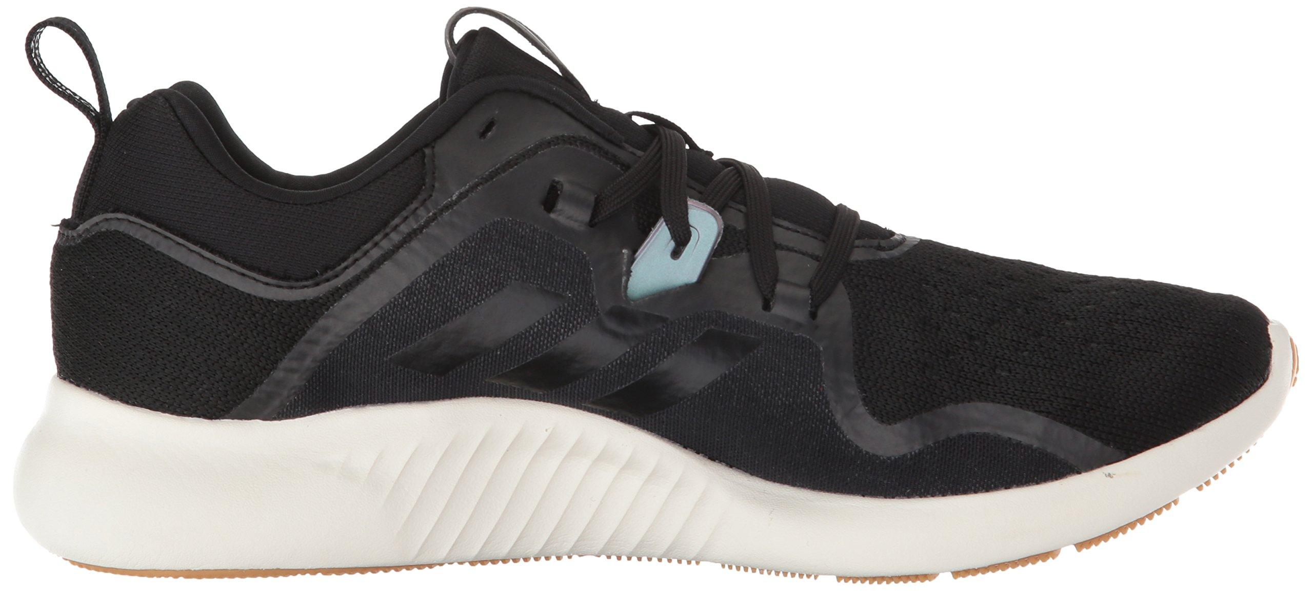 adidas Women's Edgebounce Running Shoe Black/Night Metallic, 5.5 M US by adidas (Image #6)