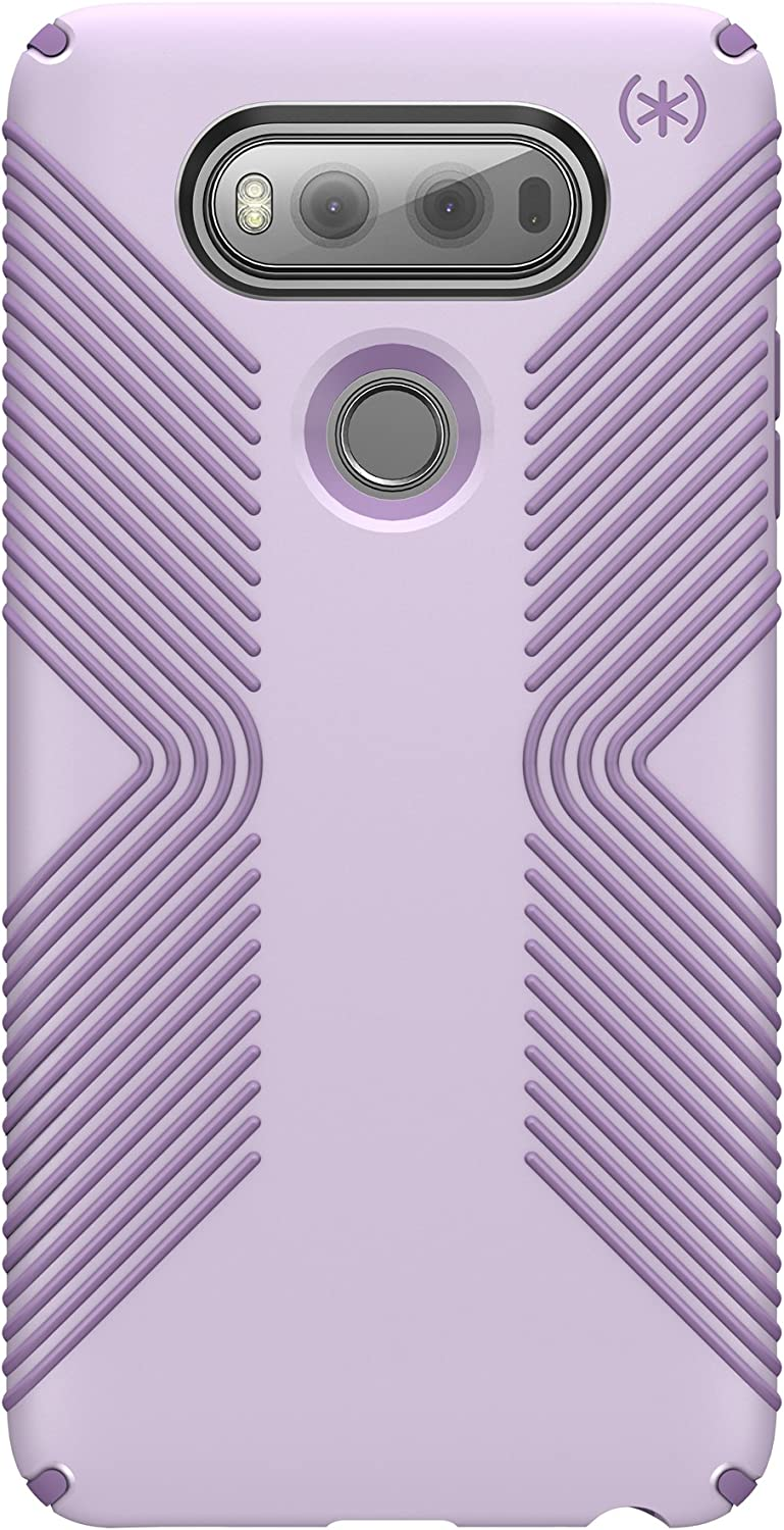 Speck Products Presidio Grip Cell Phone Case for LG V20 - Whisper Purple/Lilac Purple
