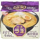 日清 ラ王 豚骨醤油 5食入