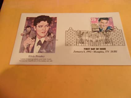 Amazon Elvis Presley First Day Of Issue 29 Cent Stamp January 8 1993 Loose Limbed Gyrations And Lively Music Other Products Everything Else