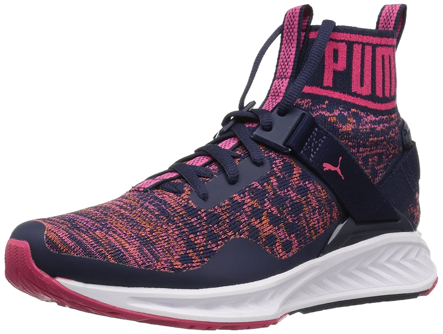 PUMA Women's Ignite Evoknit WN's Cross-Trainer Shoe B01M0AI35T 11 M US|Peacoat-sparkling Co