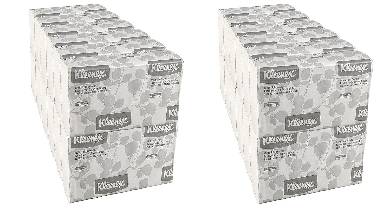 Kleenex 02046 Multi-fold toallas de papel, comodidad, 9 1/5 x 9 2/5, color blanco, 150 por paquete (funda de 8 paquetes): Amazon.es: Hogar