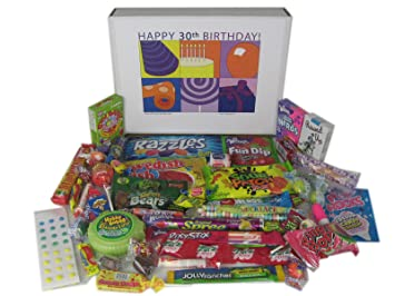 Image Unavailable Not Available For Color Woodstock Candy 30th Birthday Party Gift Box