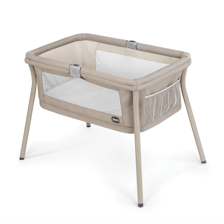 Chicco LullaGo Portable Bassinet, Sand
