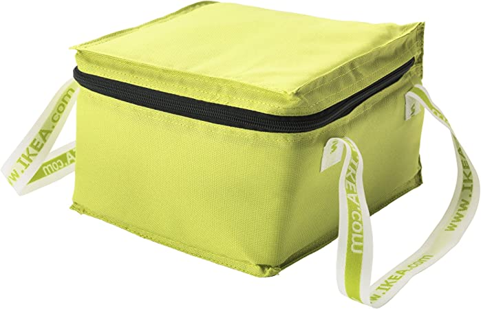 Ikea Kylvaska Tarta Handy Collapsible Insulated Bag With Zip Closure And Carrying Straps Amazon Ca Home Kitchen